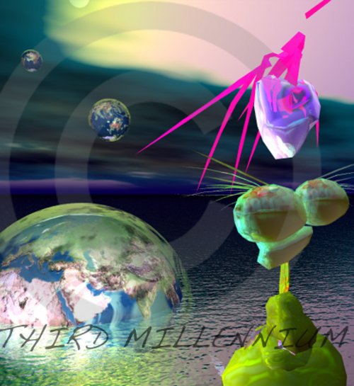 Pay for 3D Abstract Alien