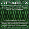 Thumbnail Jurassix - 100 Patches for the Tone2 Saurus software synth