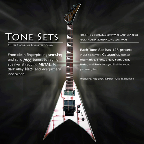 Pay for Line 6 GuitarPort Tone Set  #2 POD Farm Gearbox