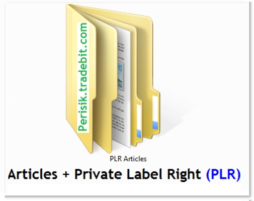 Pay for PLR Advertising Articles + Bonus (Article Analyzer Software)