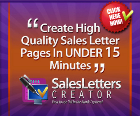 Pay for Sales Letters Creator & Mentoring