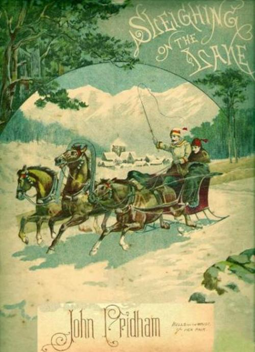 Pay for Sleighing on the Lake - Descriptive Canadian Sleighride