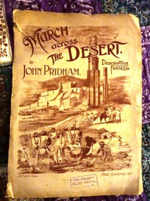 Pay for March Across the Desert - John Pridham