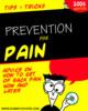 Thumbnail back pain guide report