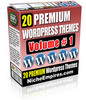 Thumbnail 20 Premium Wordpress Themes Vol 1 !