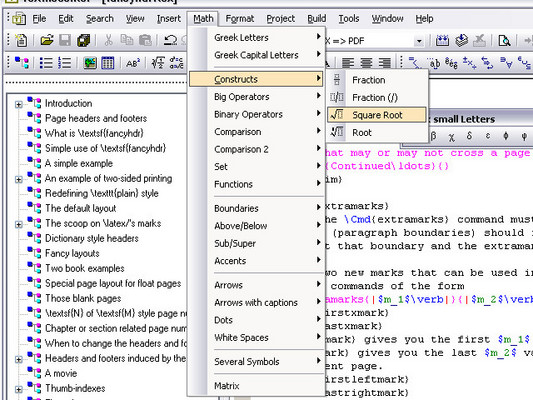 A LaTeX editor on Windows