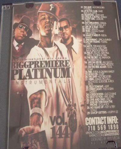 Pay for VA Bigg Premiere   Platnum Instrumentals 144.zip
