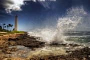 Thumbnail Wave Crashing into Rocky Coast