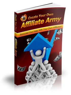 Pay for How To Create Your Own Affiliate Army With MRR