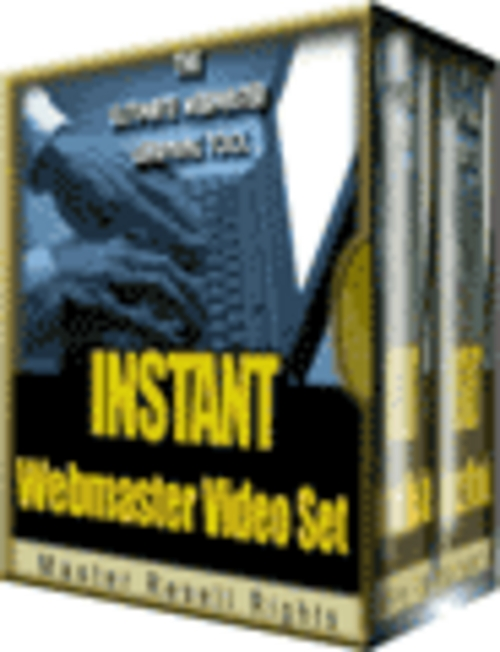 Pay for Instant webmaster video tutorials