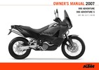 Thumbnail KTM 950-990 Owners manual