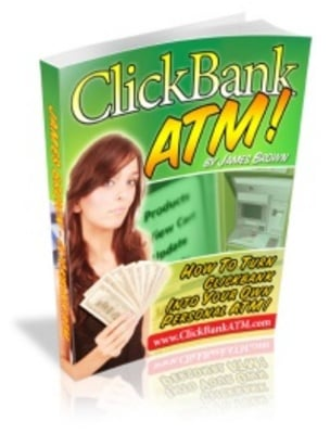 Pay for ClickBank ATM - make money on the internet