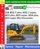 Thumbnail JCB 802.7 plus, 802.7 super, 803 plus, 803 super, 804 plus, 804 super Mini Excavator Service Repair Manual PDF Download ◆