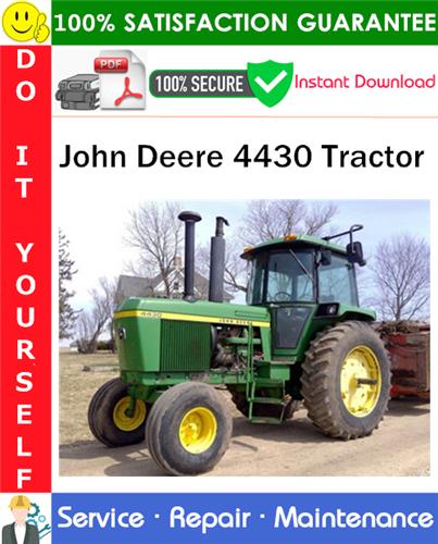 Thumbnail John Deere 4430 Tractor Service Repair Manual PDF Download ◆