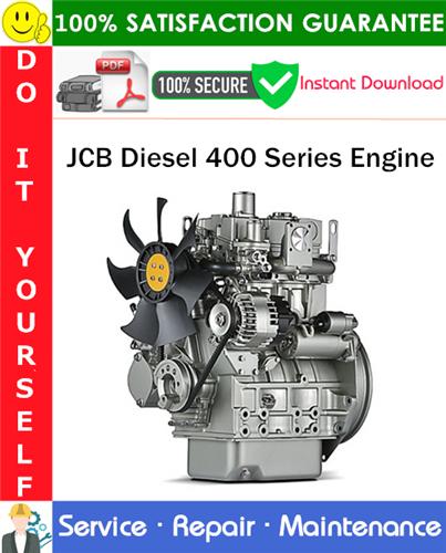 Thumbnail JCB Diesel 400 Series Engine Service Repair Manual PDF Download ◆