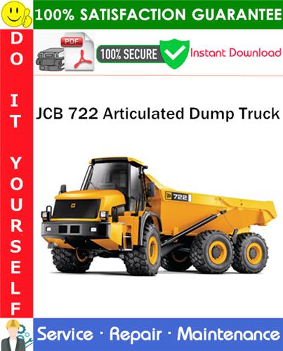 Thumbnail JCB 722 Articulated Dump Truck Service Repair Manual PDF Download ◆