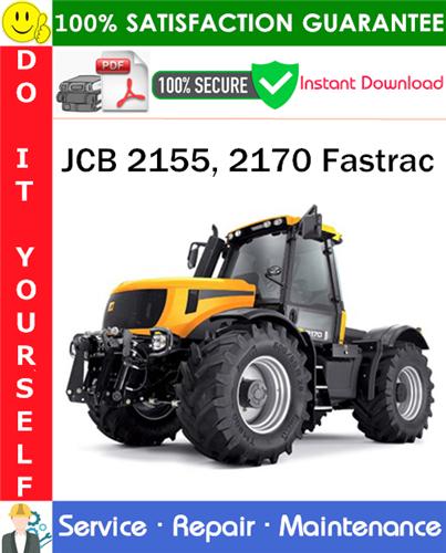 Thumbnail JCB 2155, 2170 Fastrac Service Repair Manual PDF Download ◆