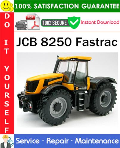Thumbnail JCB 8250 Fastrac Service Repair Manual PDF Download ◆