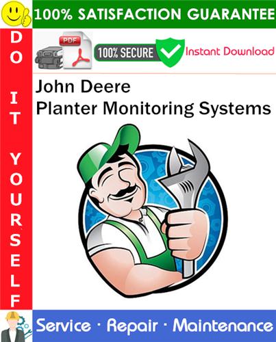 Thumbnail John Deere Planter Monitoring Systems Service Repair Manual PDF Download ◆