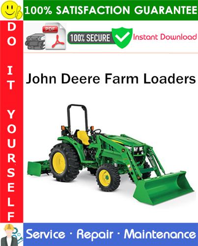 Thumbnail John Deere Farm Loaders Service Repair Manual PDF Download ◆