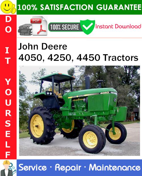 Thumbnail John Deere 4050, 4250, 4450 Tractors Service Repair Manual PDF Download ◆