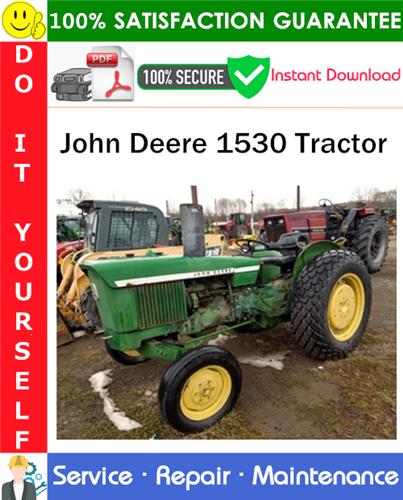 Thumbnail John Deere 1530 Tractor Service Repair Manual PDF Download ◆