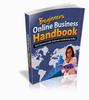 Thumbnail Beginners Online Business Handbook With PLR