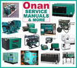Thumbnail Onan MCE Service Repair Parts Installation Operator Manual -4- Manuals - IMPROVED - DOWNLOAD