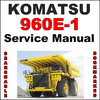 Thumbnail Komatsu 960E-1 Dump Truck Service Shop Repair Manual - SEARCHABLE - IMPROVED - DOWNLOAD