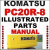Thumbnail Komatsu PC20R-8 Hydraulic Excavator Illustrated Parts Catalog Manual - DOWNLOAD
