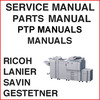 Thumbnail Ricoh MP 6001 6001SP 7001 7001SP 8001 8001SP 9001 9001SP Service Manual, PTP, Parts Catalog Manuals - DOWNLOAD