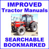 Thumbnail Collection of 3 files: IH Case 85 Series Tractor Factory Service Manual & Shop & Operators Manual - IMPROVED - DOWNLOAD