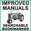 Thumbnail Collection of 3 Manuals: John Deere 720 Diesel Tractor Factory Service Manual, Operators Manual & Parts Manual - DOWNLOAD
