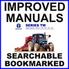 Thumbnail Collection of 2 files - Ford New Holland TM115 TM125 TM135 TM150 TM165 Tractor Service Repair Manual & Operators Owner Instruction Manual - IMPROVED - DOWNLOAD