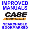 Thumbnail Collection of 2 Manuals: Case TX140-45 Turbo Telescopic Handlers Telehandlers Service Repair and Operators Instruction Manual - DOWNLOAD