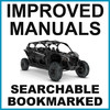Thumbnail Can-Am 2019 Maverick X3 Turbo, X3 Turbo R, X3 x DS Turbo R, X3 x RS Turbo R Service, Owners & Flat Rate Manual -3- Manuals