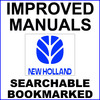 Thumbnail Collection of 2 files: New Holland TC40A Tractor Service Repair Manual & 16LA, 17LA Loaders for TC40A Tractor Operator & Maintenance Manual - IMPROVED - DOWNLOAD