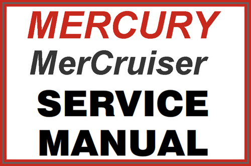 Mercury Mercruiser 4 3l Mpi Alpha And Bravo Service Repair