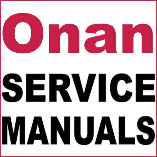 B43m Onan Engine Parts Diagram: Onan Elite Series E125H, E140H Engine Service Repair