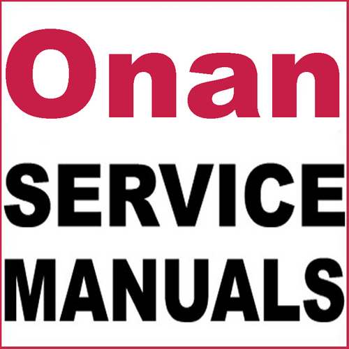 Pay for Onan BGM Service Repair Parts Installation Operator´s Manual -7- Manuals - DOWNLOAD