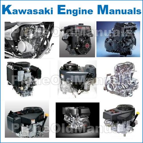 Kawasaki FD440V FD501V FD590V FD611V 4-Stroke Liquid-Cooled V-Twin on