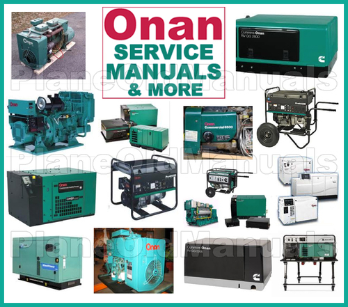 Onan Engine Parts Catalog : Onan cummins nha nhav nhb nhbv engine service parts