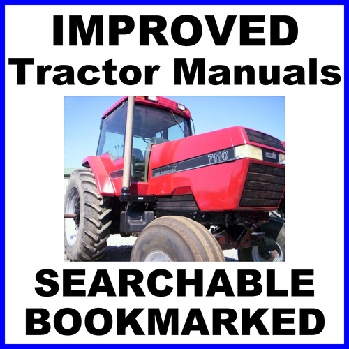 Pay for Case IH International 7110 Tractor Service & Operator Manual -2- MANUALS - IMPROVED - DOWNLOAD