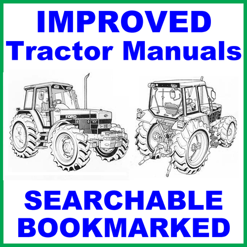 Pay for Collection of 4 files - Ford New Holland 7840 Tractor FACTORY Service Repair Manual & -3- Operator Instruction Manuals - IMPROVED - DOWNLOAD