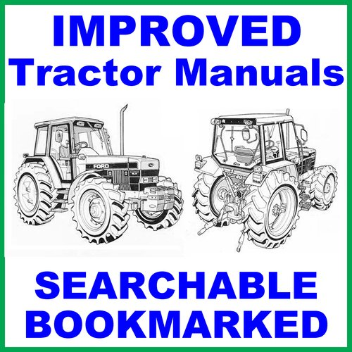 collection of 4 files ford new holland 8240 tractor factory servi rh tradebit com Farm Pro 8240 Ford 8000 Tractor