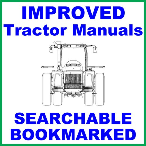 Pay for Ford New Holland 3910 Tractor -6- Volumes Service Repair & Workshop Manual - IMPROVED - DOWNLOAD