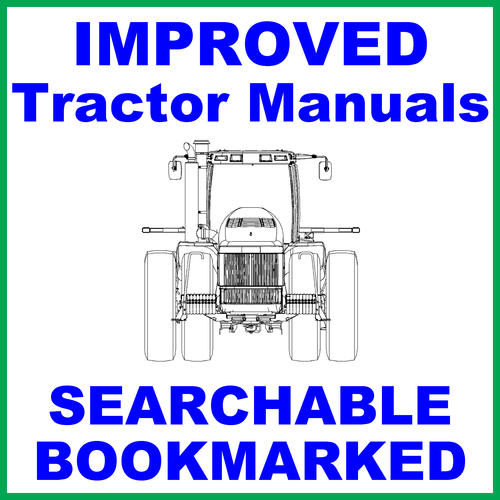 Pay for Collection of 2 files: Ford New Holland 4100 Tractor Factory Service Repair Manual & Operators Manual - IMPROVED - DOWNLOAD