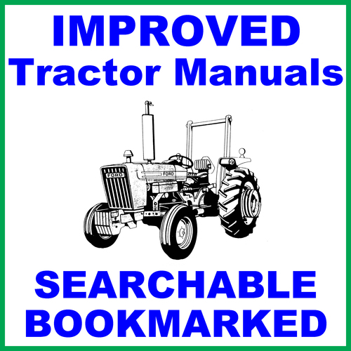 Pay for Collection of 3 files: Ford New Holland 3600 Tractor Factory Service Repair Manual & Shop & Operators Manual - IMPROVED - DOWNLOAD