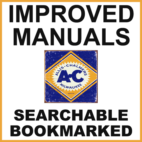 Allis Chalmers 714B & 715B Backhoe Loader Illustrated Parts Catalog Manual  - IMPROVED - DOWNLOAD