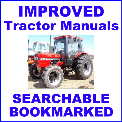 collection of 3 files ih case 85 series tractor factory service ma rh tradebit com Tractor ManualsOnline Tractor Manual Thickness